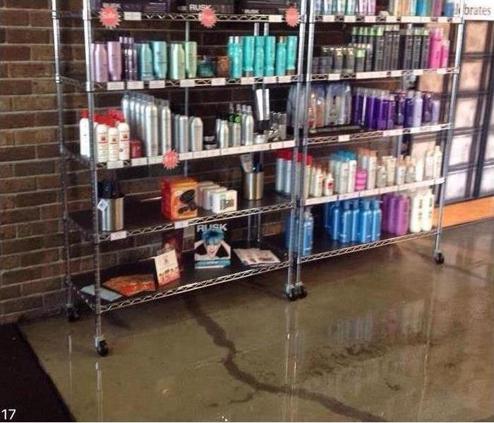 Eaton County Business experiences water damage